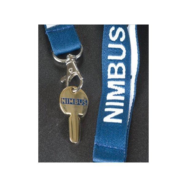 Blå nøglesnor