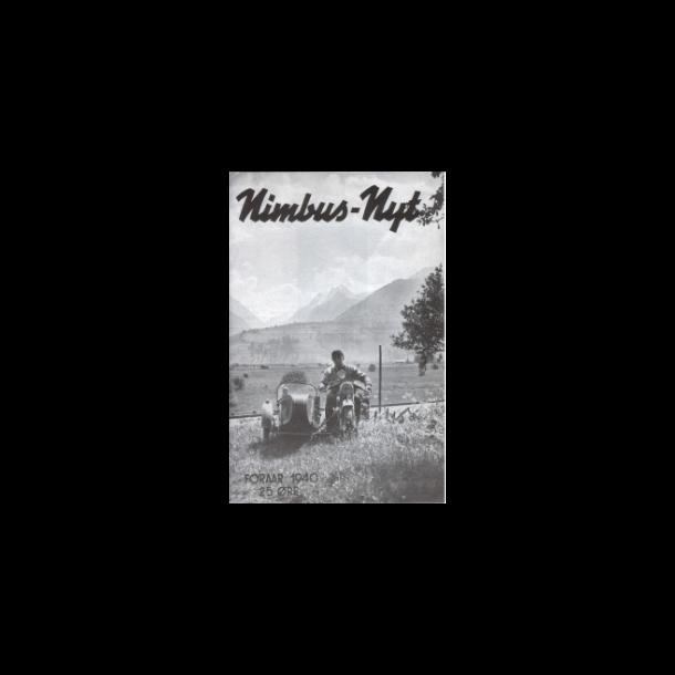 Nimbus nyt Forår 1940 nr. 1