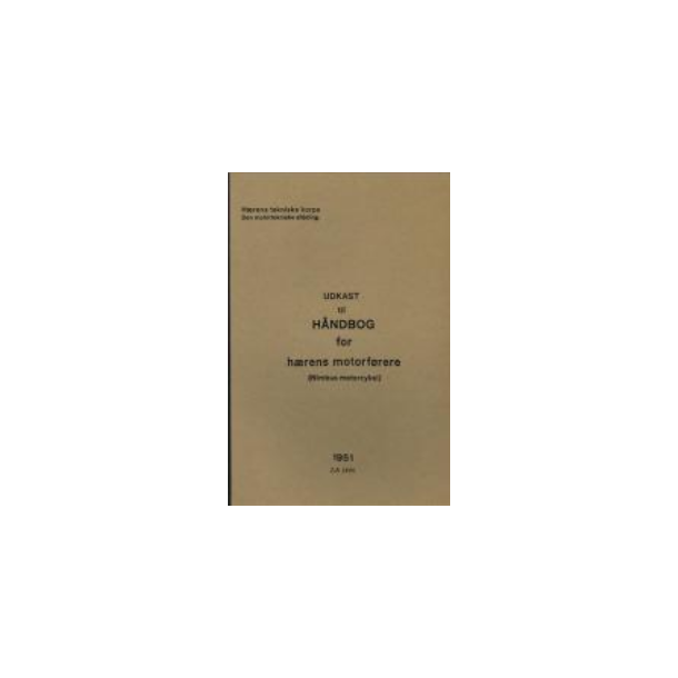 Håndbog for Hærens Motorførere 1951