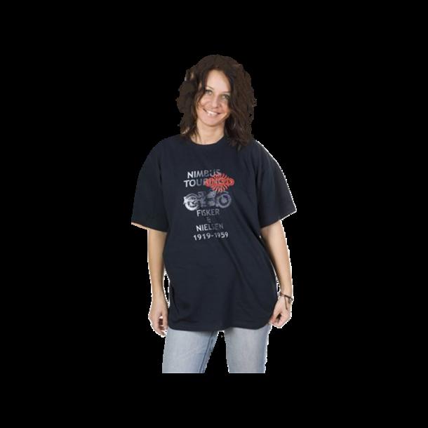 T-shirt, blå børne størrelse