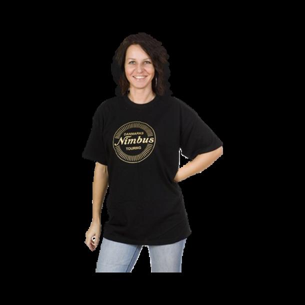 T-shirt sort børne størrelse