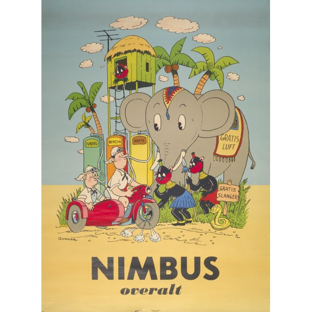 Nimbus overalt